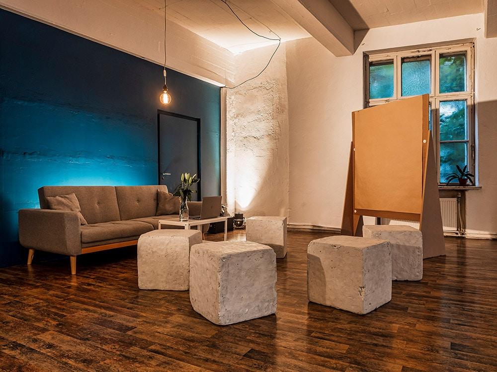 Workshop in der Etage Leipzig | 140m² für Ideen in Bewegung