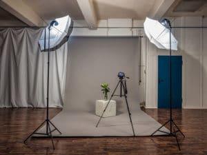 Fotostudio mit Hohlekehle in der Etage Leipzig